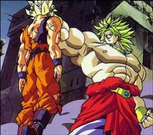 Broly super sayen legendaire vs sangoku super sayen un - Sayen legendaire ...