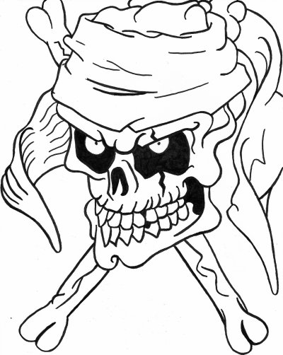 Dessin pirate blog de skull - Tete de pirate dessin ...