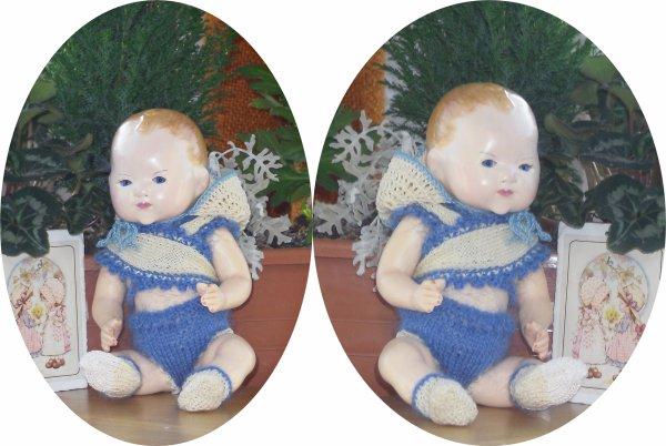 Bambino Petit Frère de Bleuette mes Créations à la vente