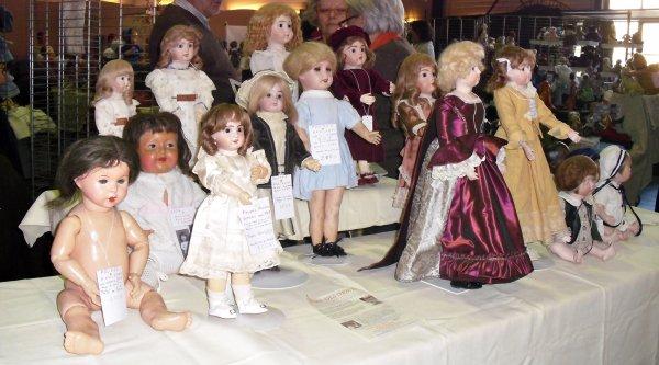 Belle émotion au 1er salon de la Poupée à Montelimar 26 Cincia de Bella ?